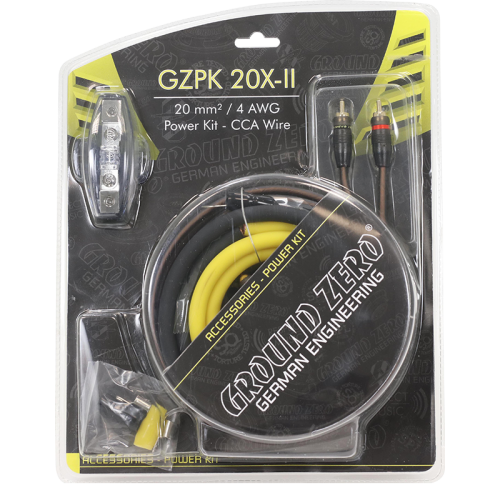 GROUND ZERO GZPK 20X-II